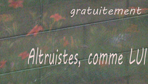 Sur la route : Altruistes