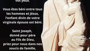 19 mars, jour de la Saint Joseph