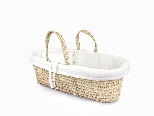 Moses Basket linen set - Vanilla