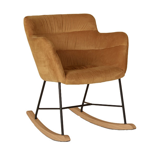Rocking Adult Chair - Gold