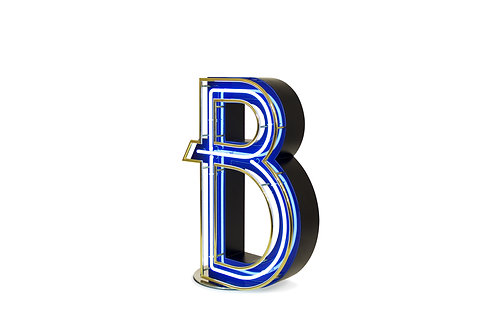 LETTER B - Graphic Lamps