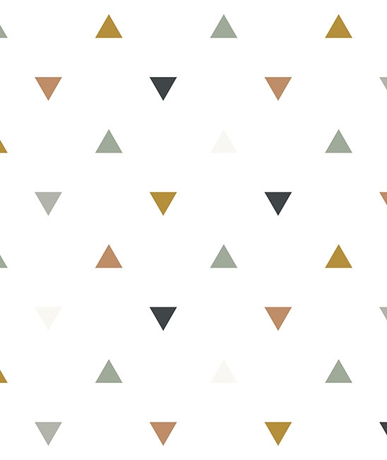 Wallpaper Triangles Enchanted