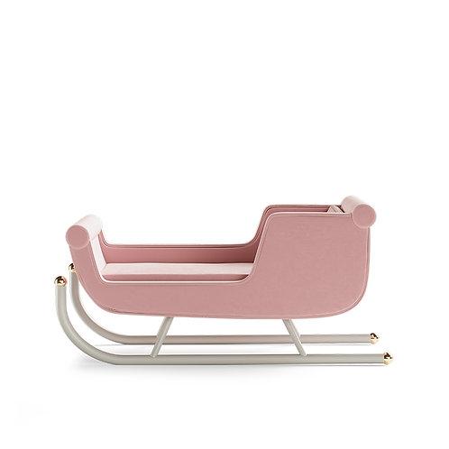 Sleigh Crib - Pink