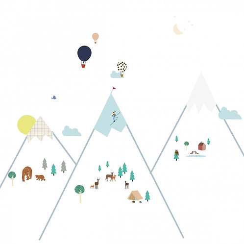 Wall Stickers - Big Mountains