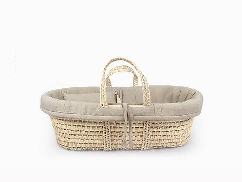 Moses Basket linen set - Ivory