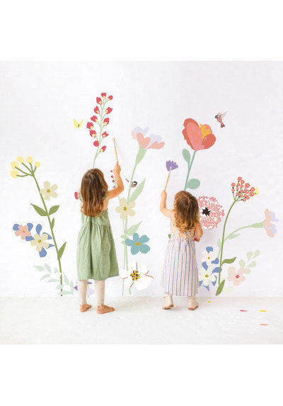 Wall Stickers Fleurs des champs - Giant