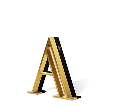 LETTER A - Graphic Lamps