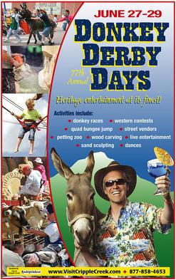 Donkey Derby Days digital advertising