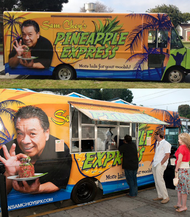 Sam Choy's Pineapple Express Food Truck