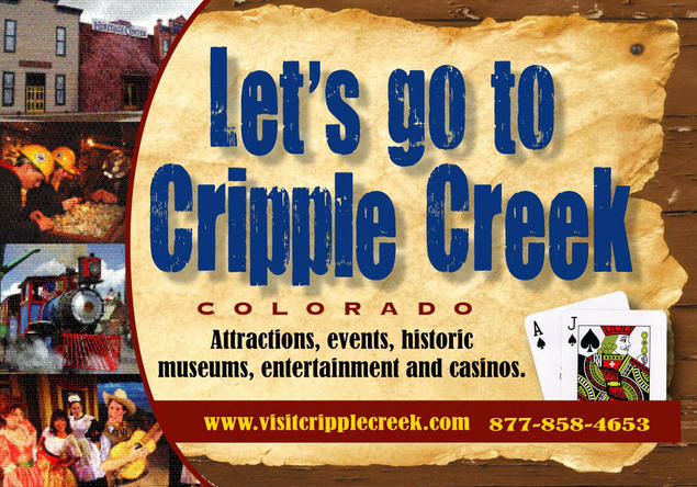 Cripple Creek tourism digital advertising