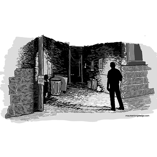Be Careful in Dark Alleys - A series for a Financial Advisor.