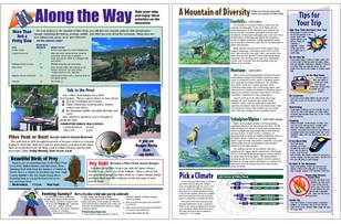 Tourism Newsprint Brochure