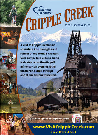 Left curve-CCity of Cripple Creek Tourism email promo