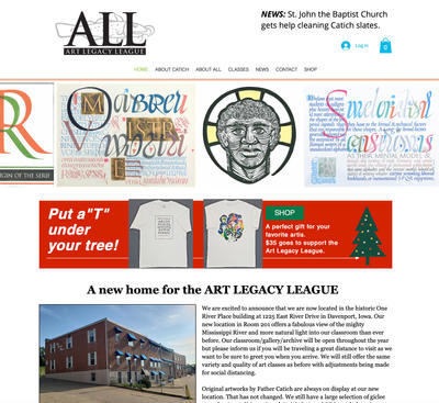 Art Legacy Leage web site