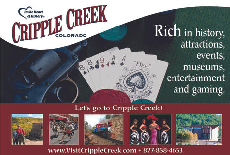 Cripple Creek toursim digital advertising