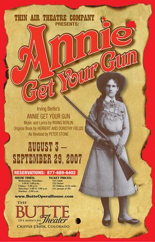 Annie Get Your Gun Poster