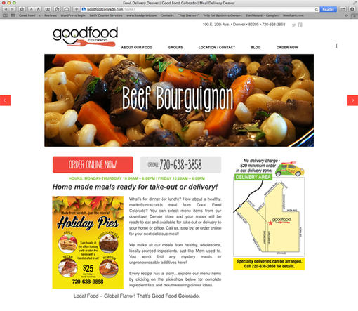 goodfoodcolorado.com web site