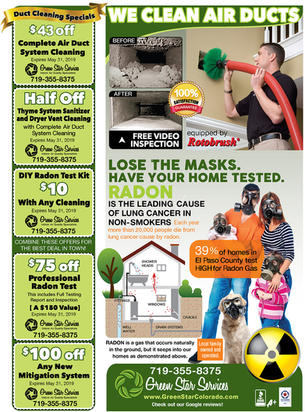 Home improvement company advertisement