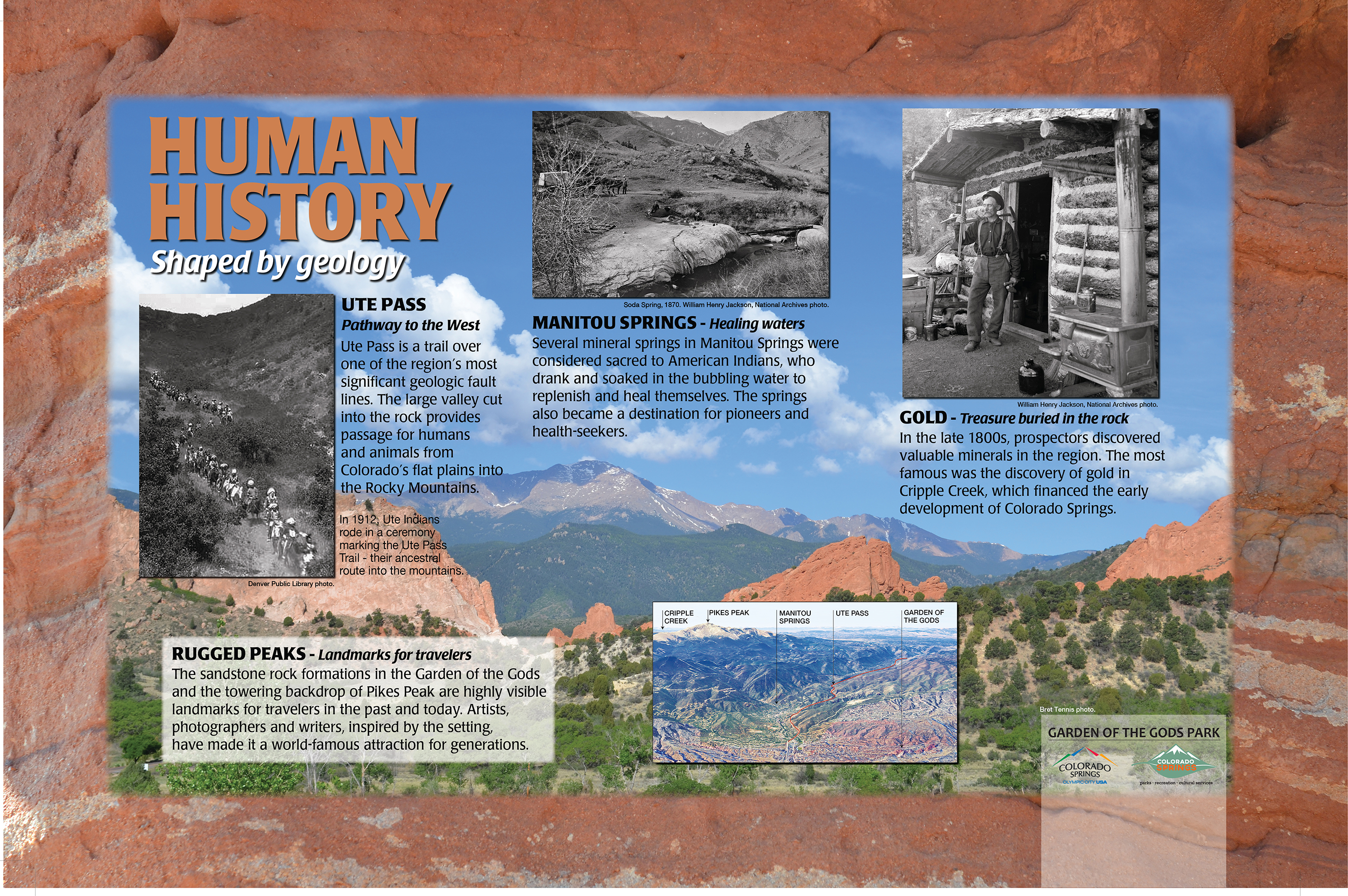 Human History-Shaped by geology