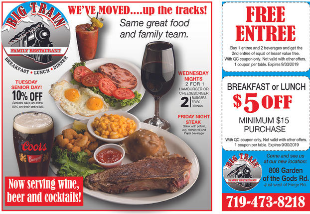 Restaurant coupon digital advertising