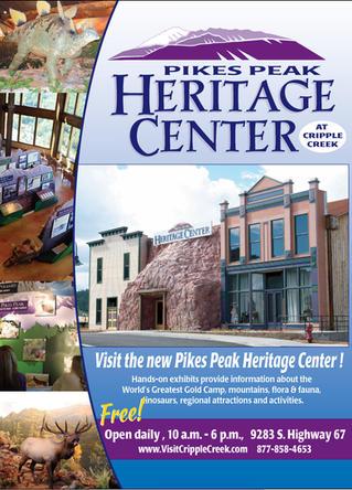 Left curve-CCity of Cripple Creek - Cripple Creek Heritage Center Tourism email promo