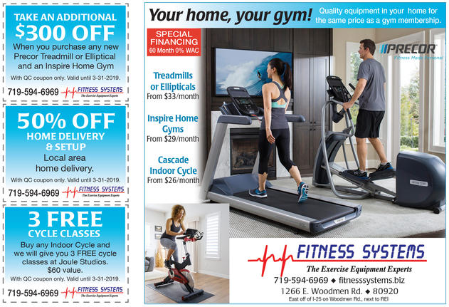 Fitness Systems digital advertising