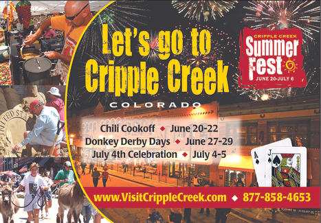 Cripple Creek tourism digital advertising