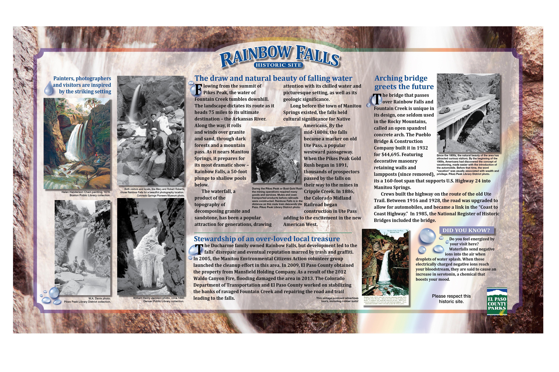Rainbow Falls History