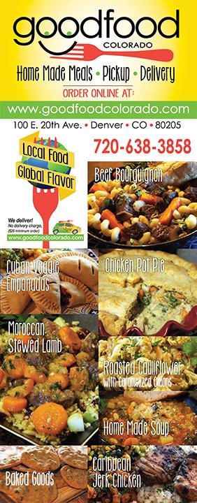 Good Food Colorado Trade Show Banner