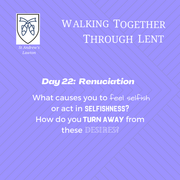 Reflection Day 22: Rev'd Stephanie Jenkins