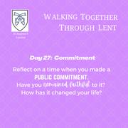 Reflection Day 27: Caroline Franco