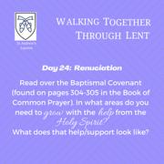 Reflection Day 24: Rev'd Isaac Mwangi