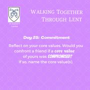 Reflection Day 25: Rev'd Stephanie Jenkins