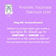 Reflection Day 26: Richard Jenkins