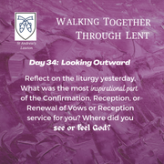 Reflection Day 34: Jim Benton