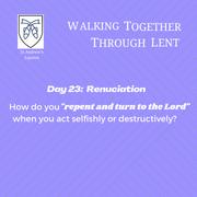 Reflection Day 23: Sue Burpo