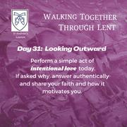 Reflection Day 31: James Lynn