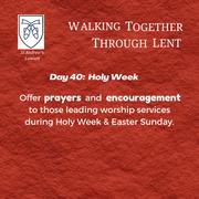 Holy Week - Palm Sunday: Blake & Ruth Dutcher