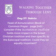 Reflection Day 37: Rev'd Dwight Helt