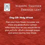 Holy Week - March 27: Rachel James