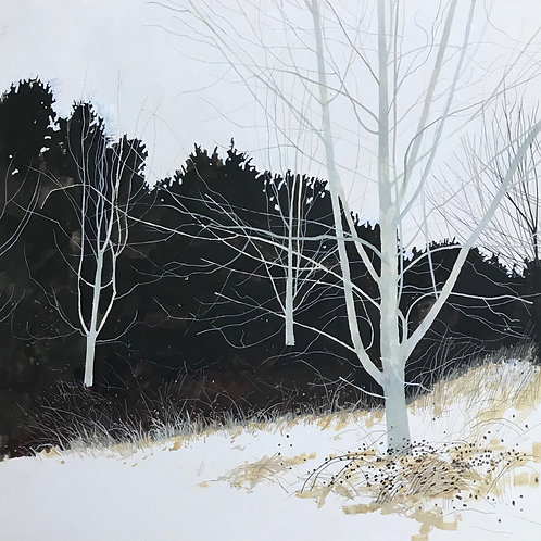 Winter Walk, signed archival giclée print.