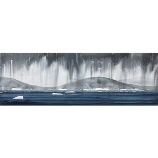 Ice And Rain, Nuuk Fjorden
