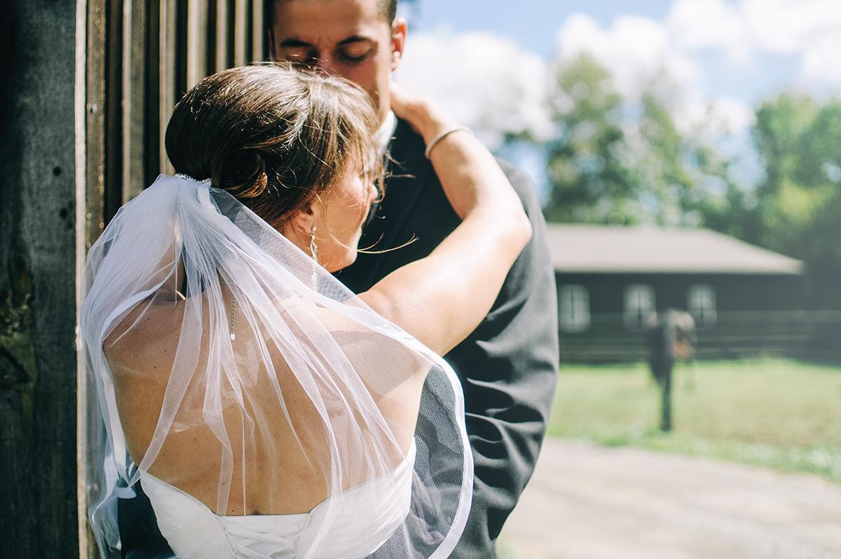 Wedding Candid Outdoors