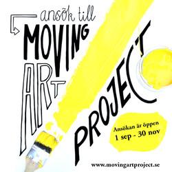 Ansök till Moving Art Project