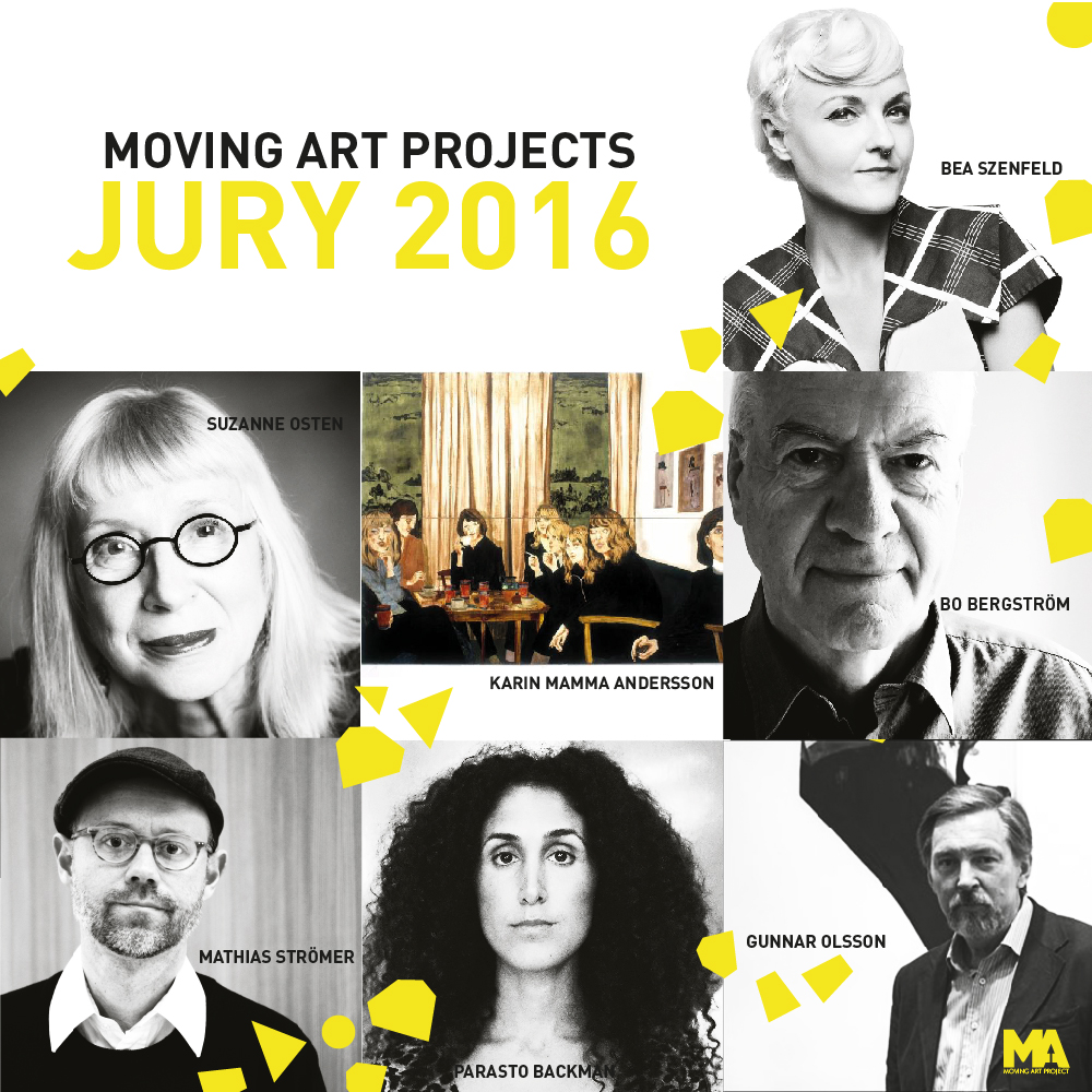 Moving Art Projects Jury 2016