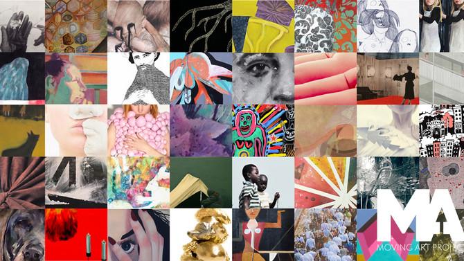 Så många sökte till Moving Art Project 2016