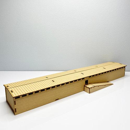 Noah's Ark Scale Model - 1:220 Scale