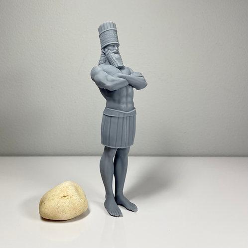 Daniel's World Powers Statue