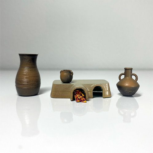 Joseph & Mary's First Century House Wares - 1:40 Scale