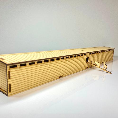Noah's Ark Scale Model - 1:250 Scale